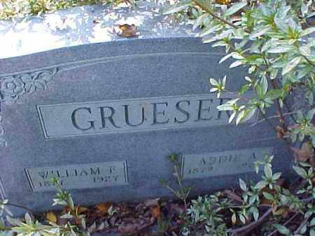 GRUESER, ADDIE A. - Meigs County, Ohio | ADDIE A. GRUESER - Ohio Gravestone Photos