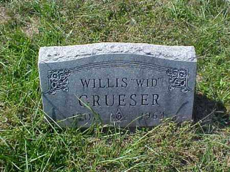 "GRUESER, WILLIS ""WID"" - Meigs County, Ohio 