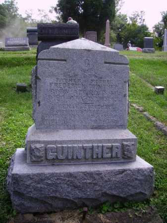 GUINTHER, FREDERICK - MONUMENT - Meigs County, Ohio | FREDERICK - MONUMENT GUINTHER - Ohio Gravestone Photos