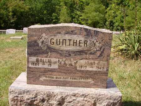 GUNTHER, MOLLIE - Meigs County, Ohio | MOLLIE GUNTHER - Ohio Gravestone Photos