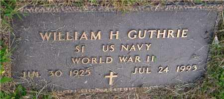 GUTHRIE, WILLIAM H. - Meigs County, Ohio | WILLIAM H. GUTHRIE - Ohio Gravestone Photos