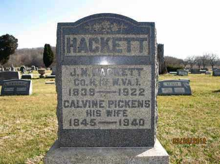HACKETT, J.M. (JASPER M) - Meigs County, Ohio | J.M. (JASPER M) HACKETT - Ohio Gravestone Photos