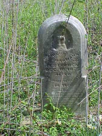 HAGMANN, MARCUS - Meigs County, Ohio | MARCUS HAGMANN - Ohio Gravestone Photos