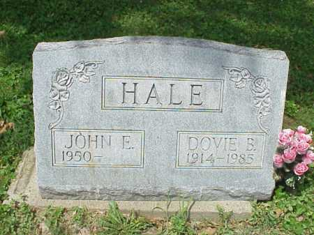 HALE, DOVIE B. - Meigs County, Ohio | DOVIE B. HALE - Ohio Gravestone Photos
