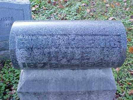 KOENIG HALE, EMMA - Meigs County, Ohio | EMMA KOENIG HALE - Ohio Gravestone Photos