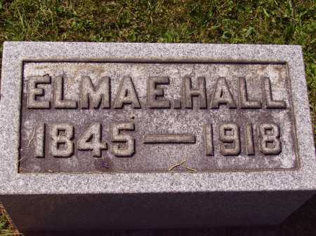 HALL, ELMA - Meigs County, Ohio | ELMA HALL - Ohio Gravestone Photos
