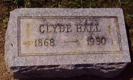 HALL, ERNEST CLYDE - Meigs County, Ohio | ERNEST CLYDE HALL - Ohio Gravestone Photos