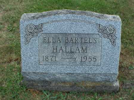 HALLAM, ELLA - Meigs County, Ohio | ELLA HALLAM - Ohio Gravestone Photos