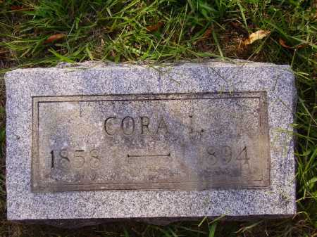 HALLIDAY, CORA L. - Meigs County, Ohio | CORA L. HALLIDAY - Ohio Gravestone Photos