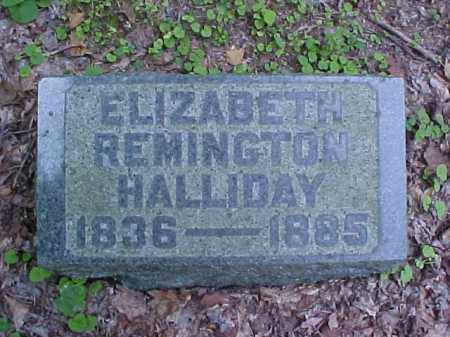 HALLIDAY, ELIZABETH - Meigs County, Ohio | ELIZABETH HALLIDAY - Ohio Gravestone Photos