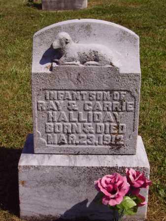 HALLIDAY, INFANT SON - Meigs County, Ohio | INFANT SON HALLIDAY - Ohio Gravestone Photos