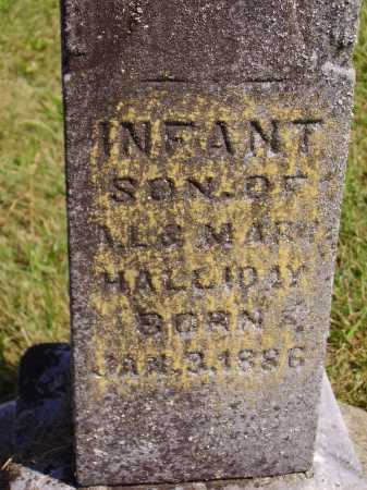 HALLIDAY, INFANT - CLOSEVIEW - Meigs County, Ohio | INFANT - CLOSEVIEW HALLIDAY - Ohio Gravestone Photos