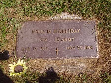 HALLIDAY, IVAN MERILL - Meigs County, Ohio | IVAN MERILL HALLIDAY - Ohio Gravestone Photos