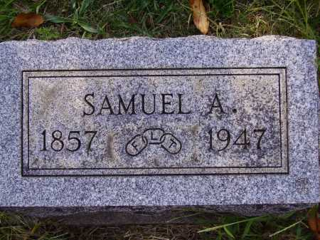 HALLIDAY, SAMUEL A. - Meigs County, Ohio | SAMUEL A. HALLIDAY - Ohio Gravestone Photos