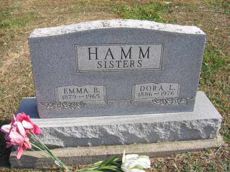 HAMM, EMMA B. - Meigs County, Ohio | EMMA B. HAMM - Ohio Gravestone Photos