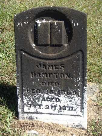 HAMPTON, JAMES - Meigs County, Ohio | JAMES HAMPTON - Ohio Gravestone Photos