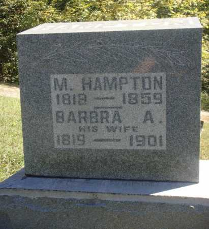 HAMPTON, M. [MOSES] - Meigs County, Ohio | M. [MOSES] HAMPTON - Ohio Gravestone Photos