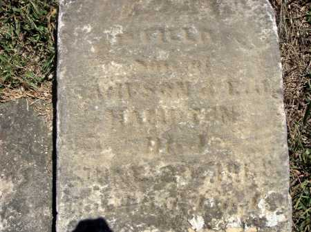 HAMPTON, WINFIELD S. - CLOSE VIEW - Meigs County, Ohio   WINFIELD S. - CLOSE VIEW HAMPTON - Ohio Gravestone Photos