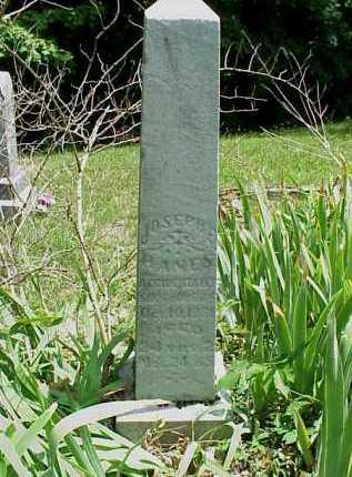 HANES, JOSEPH E. - Meigs County, Ohio | JOSEPH E. HANES - Ohio Gravestone Photos