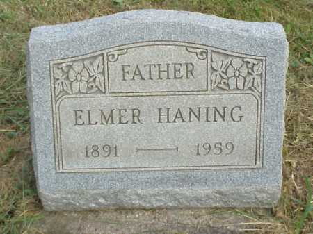 HANING, ELMER - Meigs County, Ohio | ELMER HANING - Ohio Gravestone Photos