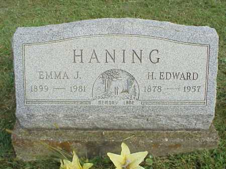 HANING, EMMA J. - Meigs County, Ohio | EMMA J. HANING - Ohio Gravestone Photos