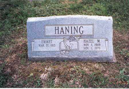 HANING, HAZEL M. - Meigs County, Ohio | HAZEL M. HANING - Ohio Gravestone Photos