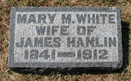 WHITE HANLIN, MARY M. - Meigs County, Ohio | MARY M. WHITE HANLIN - Ohio Gravestone Photos