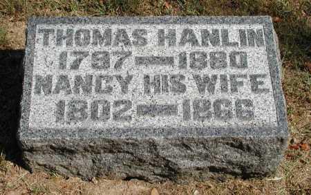 HANLIN, NANCY - Meigs County, Ohio | NANCY HANLIN - Ohio Gravestone Photos
