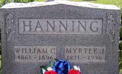 HANNING, WILLIAM C. - Meigs County, Ohio | WILLIAM C. HANNING - Ohio Gravestone Photos