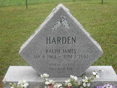 HARDEN, RALPH JAMES - Meigs County, Ohio | RALPH JAMES HARDEN - Ohio Gravestone Photos