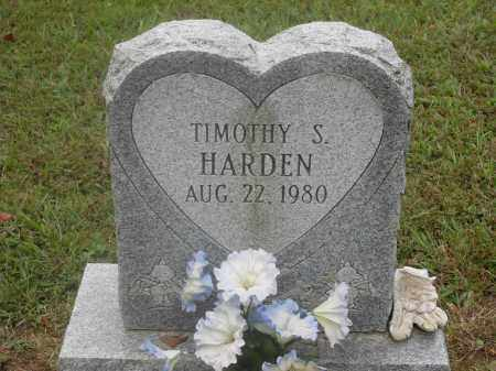 HARDEN, TIMOTHY S. - Meigs County, Ohio | TIMOTHY S. HARDEN - Ohio Gravestone Photos