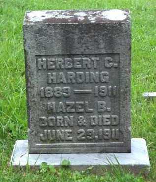 HARDING, HAZEL B. - Meigs County, Ohio | HAZEL B. HARDING - Ohio Gravestone Photos