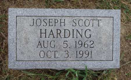 HARDING, JOSEPH SCOTT - Meigs County, Ohio | JOSEPH SCOTT HARDING - Ohio Gravestone Photos