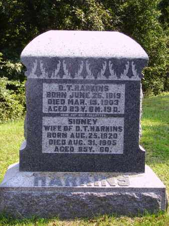 HARKINS, D. [DAIVD] T. - Meigs County, Ohio | D. [DAIVD] T. HARKINS - Ohio Gravestone Photos