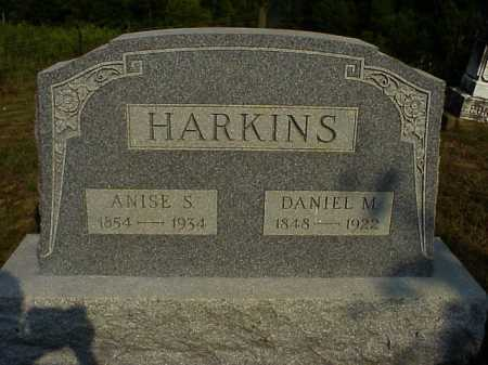 HARKINS, DANIEL M. - Meigs County, Ohio | DANIEL M. HARKINS - Ohio Gravestone Photos
