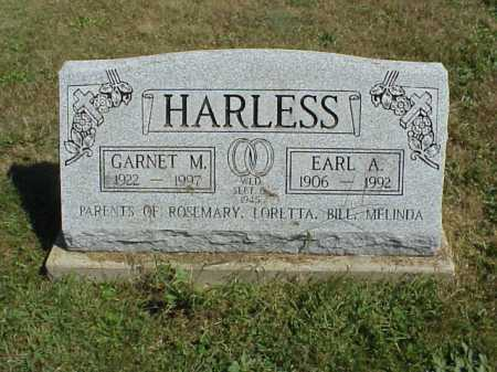 HARLESS, EARL A. - Meigs County, Ohio | EARL A. HARLESS - Ohio Gravestone Photos