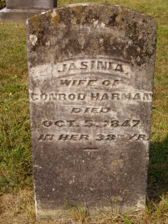 HARMAN, JASINIA - Meigs County, Ohio | JASINIA HARMAN - Ohio Gravestone Photos