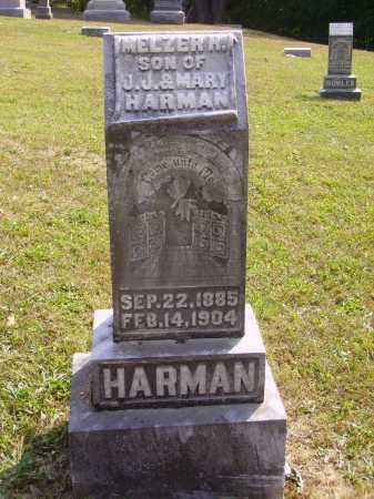 HARMAN, MELZER H. - Meigs County, Ohio | MELZER H. HARMAN - Ohio Gravestone Photos