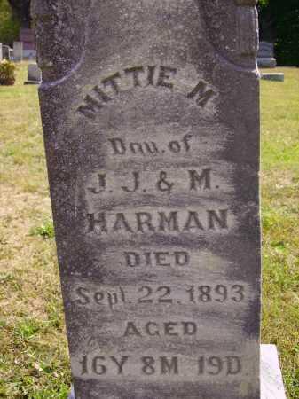 HARMAN, MITTIE M. - CLOSEVIEW - Meigs County, Ohio | MITTIE M. - CLOSEVIEW HARMAN - Ohio Gravestone Photos
