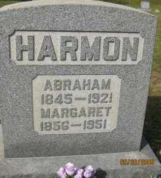 HARMON, MARGARET - Meigs County, Ohio | MARGARET HARMON - Ohio Gravestone Photos
