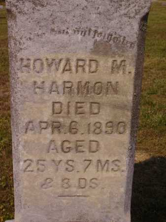 HARMON, HOWARD M. - CLOSEVIEW - Meigs County, Ohio | HOWARD M. - CLOSEVIEW HARMON - Ohio Gravestone Photos
