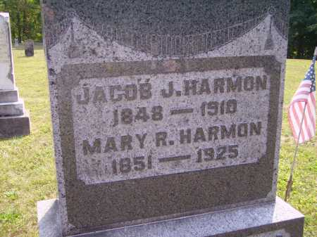 HARMON, JACOB - Meigs County, Ohio | JACOB HARMON - Ohio Gravestone Photos