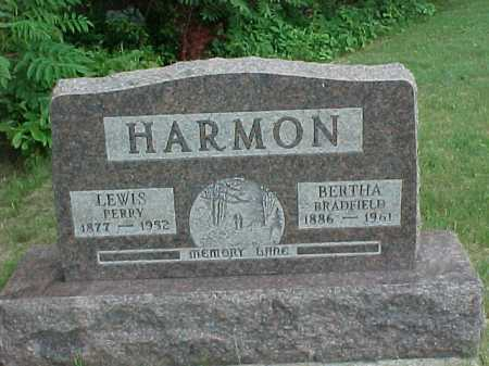 BRADFIELD HARMON, BERTHA - Meigs County, Ohio | BERTHA BRADFIELD HARMON - Ohio Gravestone Photos