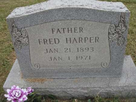 HARPER, FRED - Meigs County, Ohio | FRED HARPER - Ohio Gravestone Photos