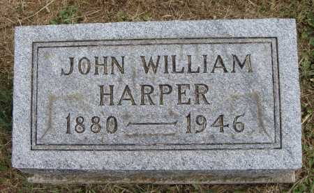 HARPER, JOHN WILLIAM - Meigs County, Ohio | JOHN WILLIAM HARPER - Ohio Gravestone Photos