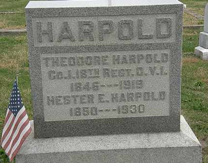 HARPOLD, HESTER E. - Meigs County, Ohio | HESTER E. HARPOLD - Ohio Gravestone Photos