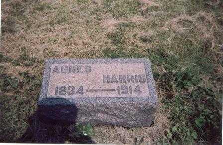 HARRIS, AGNES - Meigs County, Ohio | AGNES HARRIS - Ohio Gravestone Photos