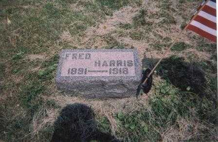 HARRIS, FRED - Meigs County, Ohio | FRED HARRIS - Ohio Gravestone Photos
