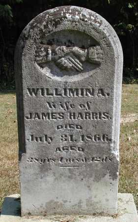 HARRIS, WILLIMINA - Meigs County, Ohio | WILLIMINA HARRIS - Ohio Gravestone Photos