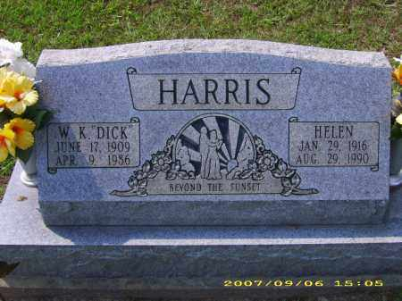 "HARRIS, WALTER K ""DICK"" - Meigs County, Ohio 